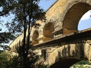 The Pont Du Gard. Still standing.