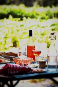 Table Vigneronne at Domaine de Marotte Vineyard