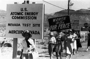There is a long history of civil disobedience at the Nevada Test Site