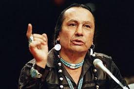 Russell Means was with us!
