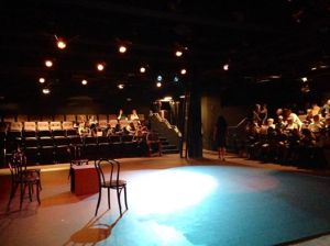 The theatre at Playhouse on Park.  The  photo was taken by photographer and director Kara Emily Krantz.