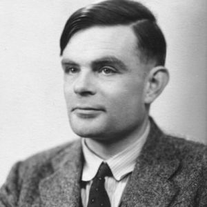 Alan Turing, whose machine became the bane of my existence for five weeks in college. None of which compares to what he endured.